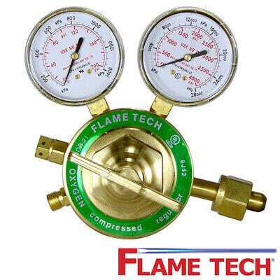Flame Technologies Vhor-21 Heavy Duty Oxygen Regulator - Victor Compatible