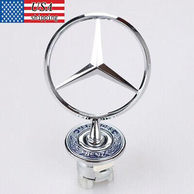 New Mercedes Benz Hood Ornament Emblem C E Class 2108800186 US SHIPPING