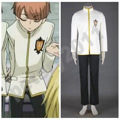 Ouran High School Host Club Junior Cosplay Costume Male Uniform Halloween Anime ](Anime Male Clothes)