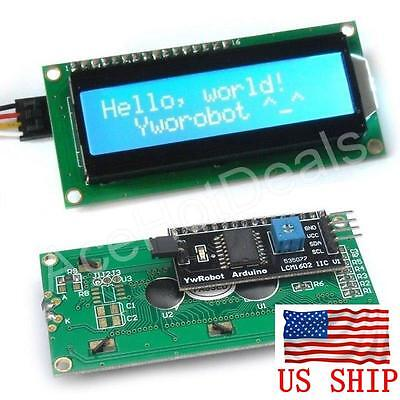 Iici2ctwi 1602 Serial Blue Backlight Lcd Display For Arduino