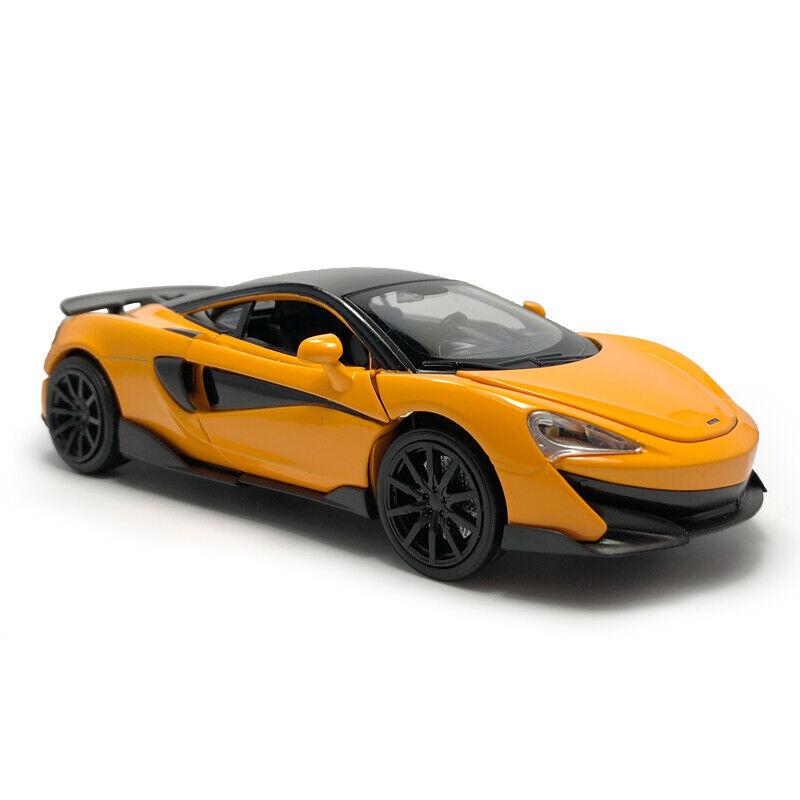 McLaren 600LT 2019 Supercar 1:32 Model Car Diecast Toy Kids Collection Black