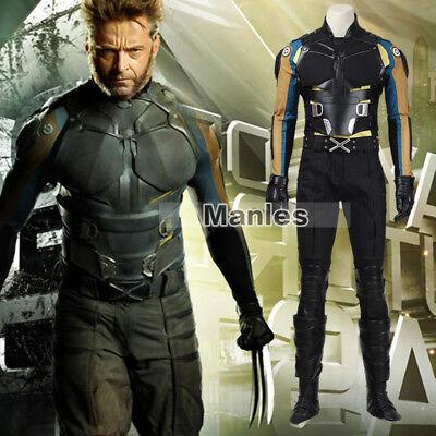 Marvel Movie X-Men Days of Future Past Wolverine Logan Cosplay Costume - Days Of Future Past Wolverine Costume
