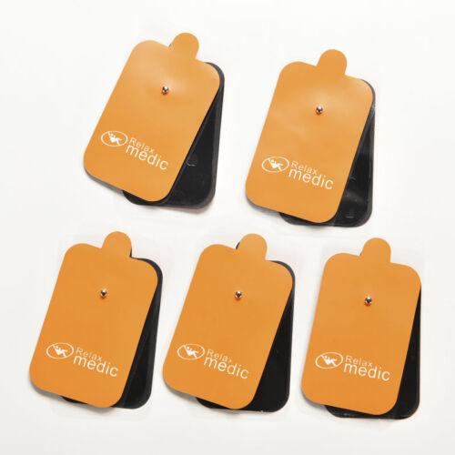 10X TENS Machine Replacement Message Electrode Pads Self-Adhesive Reusable HGU