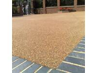 Resin bound driveways artificial grass patios block paving landscape gardener water features