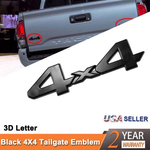NEW TACOMA TUNDRA 4RUNNERS BLACK TRD PRO  Side Trunk EMBLEM BADGE