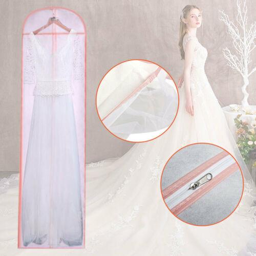 180cm Kleidersack Schutzhülle für Hochzeitskleid Brautkleid Abendkleid Anzug DE