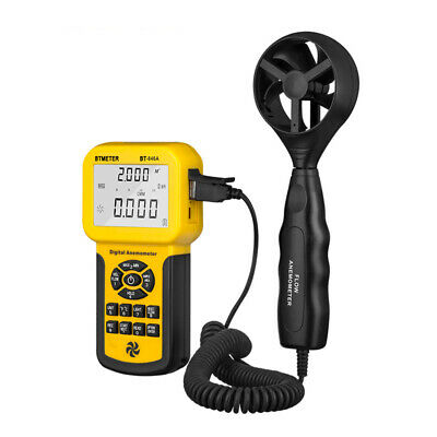 Portable Anemometer Wind Air Speed Flow Velocity Meter Handhold Thermo Cfm Cmm