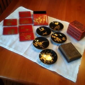 Lacquered collectibles from the Orient