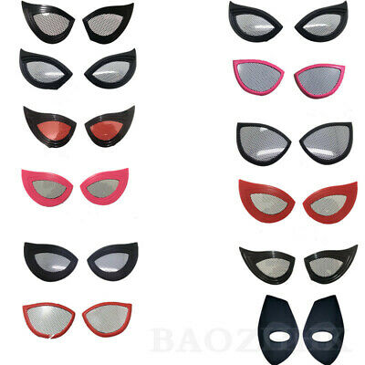 10 Style Spiderman Lenses Spider Lens Eye Mask Cosplay Costume Props - Spider Eye Halloween