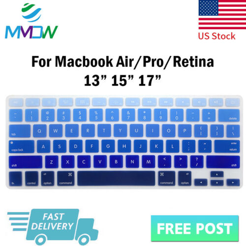 Right Left Brain Silicone Keyboard Cover Skin For Macbook Pro Air Retina 13 15