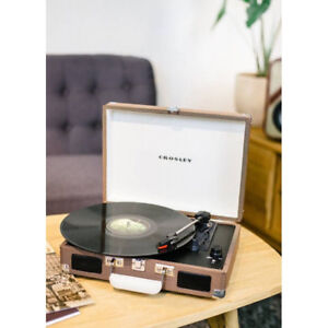 Crosley Cruiser Portable 3-Speed Turntable Tweed Record Player