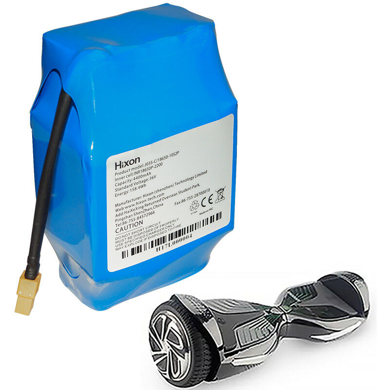 Hixon 36V 4.4AH Electric Scooters Battery 10s2p for Hoverboa
