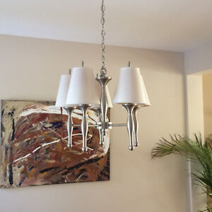 Light 5 shades stainless steel