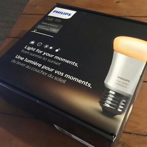 Philips Hue Bridge, Switch, & 1 White Ambiance Bulb (2nd Gen)