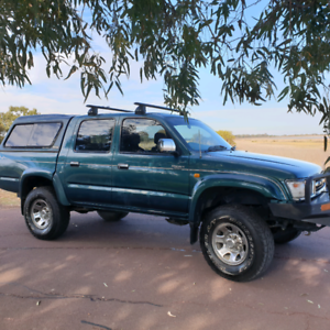 99 Hilux sell or swap for bike