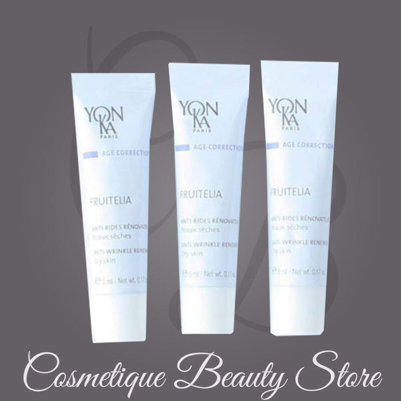 Yonka Fruitelia Ps Dry/sensitive Skin Lotion Aha Samples ...