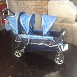 3 seat foundations stroller