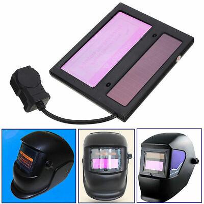 Ws-1000 Solar Auto Darkening Welding Helmet Lens Automatic 1109010mm Black New