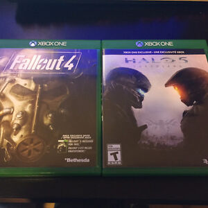 fallout 4 and halo 5 ( brand new ) Windsor Region Ontario image 1