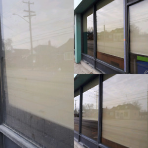 Get your windows cleaned