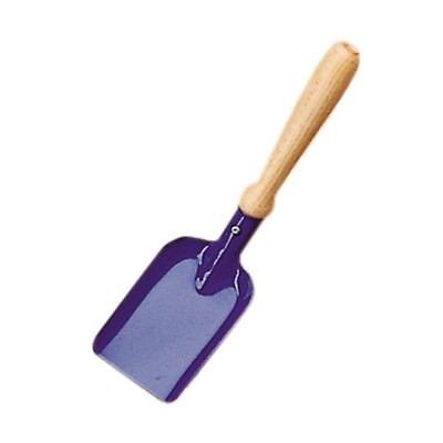 Kleine Schaufel, Schäufelchen blau aus Metall 25cm für den Sandkasten, 535206
