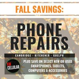 KW CELLULAR: Phone Screen Repairs & More - 1500 Weber St E