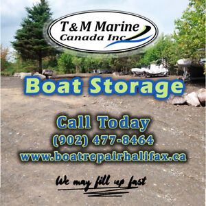 Boat Storage in Halifax, Nova Scotia