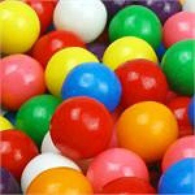 100 COUNT 1/2 HALF INCH 15MM DUBBLE BUBBLE GUMBALLS BULK CANDY PARTY GOODY BAGS - Bulk Candy Bags