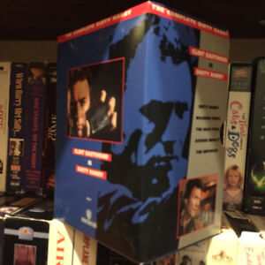VHS classics and collectables