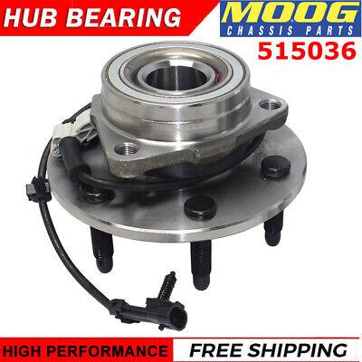 MOOGFront Wheel Hub & Bearing Assembly 4WD or AWD For Chevy Silverado GMC Sierra
