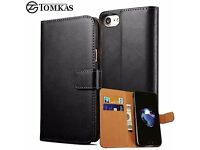 NEW iPhone 7 / 6 / 6S Leather Flip Case