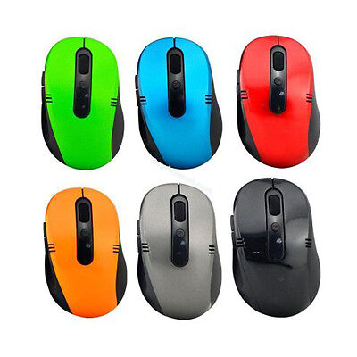 5 x WIRELESS CORDLESS 2.4GHz MOUSE USB DONGLE OPTICAL SCROLL