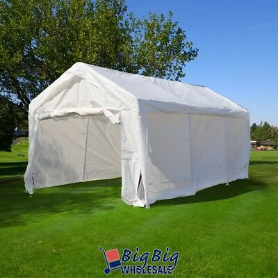 10'x20' Portable Garage Carport Car Shelter Outdoor Canopy Party Wedding Tent