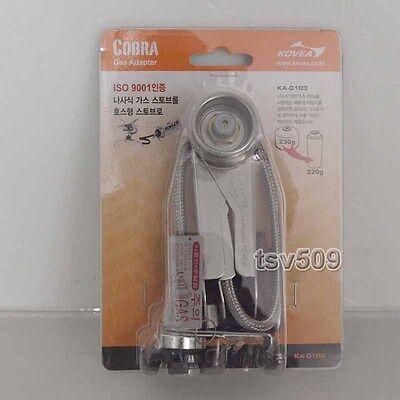 Genuine Kovea Cobra Adaptor KA-0103 Convert Screw Stove