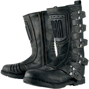 NEW ICON 1000 WOMENS Elsinore Motorcycle Boots - SIZE 6