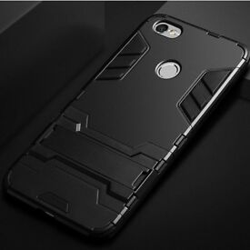 NEW - Shockproof Armor Case Stand Phone Cover -Huawei P Smart