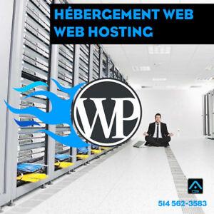 HÉBERGEMENT DE VOTRE SITE WEB - création site web, Web Hosting