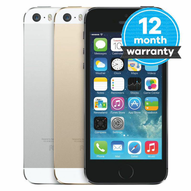 NEW APPLE IPHONE 5S NEW FACTORY UNLOCKED 16GB 32GB SMARTPHONE SIM FREE