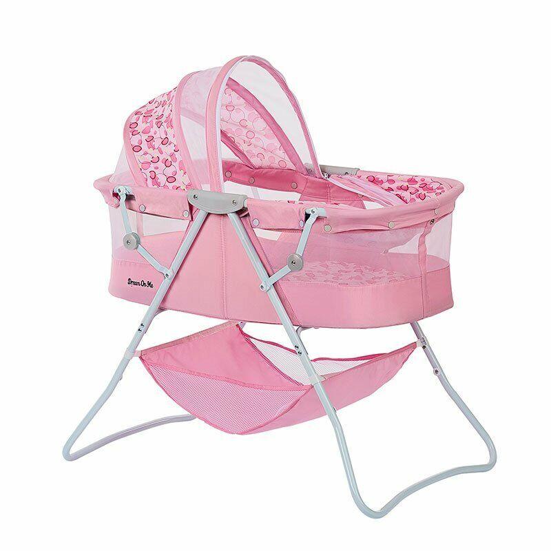 Dream On Me Karley Bassinet In Pink