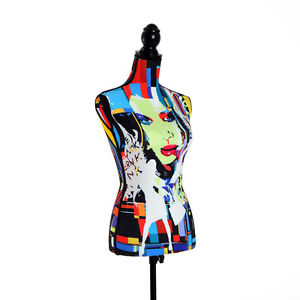 Female Dress Form Mannequin Torso Clothing Display Stand Foam W/