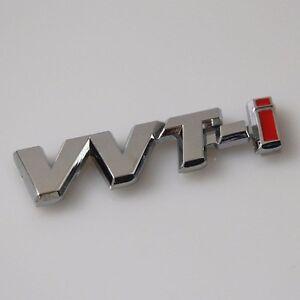 JDM Auto Car  VVTI VVT-i for CORROLA Side wing Emblem Decal Badge Sticker CAMRY