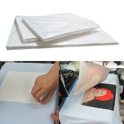 10pcs A4 Heat Transfer Paper Sheets T-shirt Print For Light Fabric Cloth Crafts