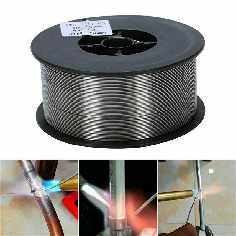 Mig Wire Gasless Flux Cored 0.8mm 1kg Welding Welder Reel ...