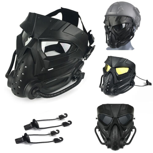 Airsoft Mask Defensive PC Lens Skull Paintball CS Shooting Mask MilitaryTactical