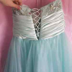Mint green/blue graduation dress St. John's Newfoundland image 3