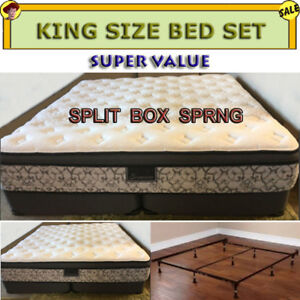 KING SIZE BED SET - PRISTINE CONDITION AND NEVER USED