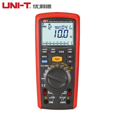Uni-t Ut505a Digital True Rms Insulation Resistance Meter Multimeter Megohmmeter