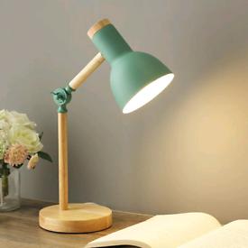 Table lamp, desk lamp, wooden desk lamp , bedside lamp