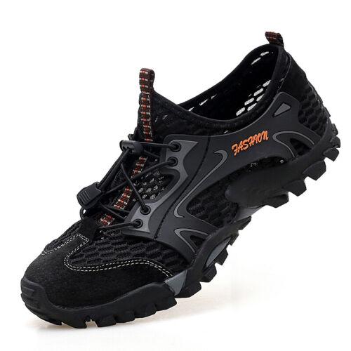 Herren Mesh Wasserdicht Trekkingschuhe Outdoor Trekking Wanderstiefel Sneaker