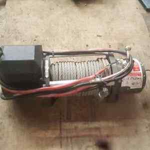 10500 lbs winch no remote